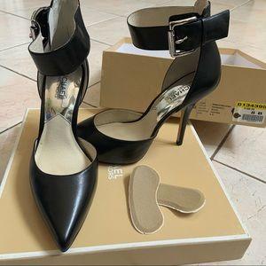 Michael Kors Leather Heel w/ Ankle Strap